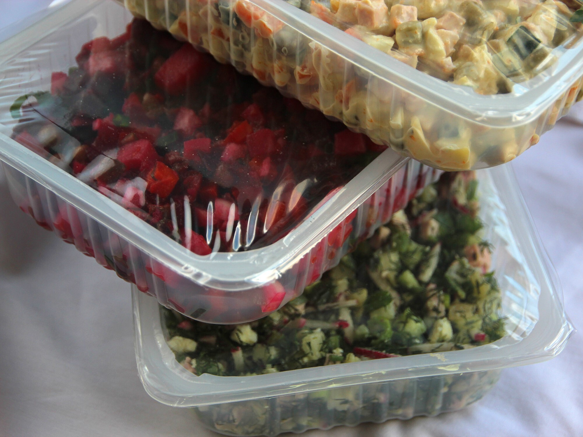 Food Packaging Clear Lidding