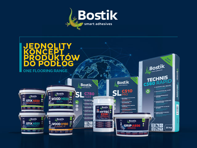 Bostik Wall and Floor banner